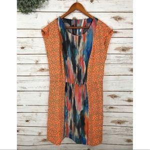Dresses & Skirts - CHEETAH PRINT SILKY SHORT SLEEVE DRESS